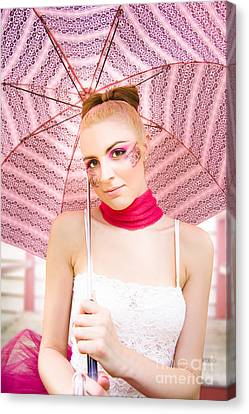 Model Canvas Print by Jorgo Photography - Wall Art Gallery