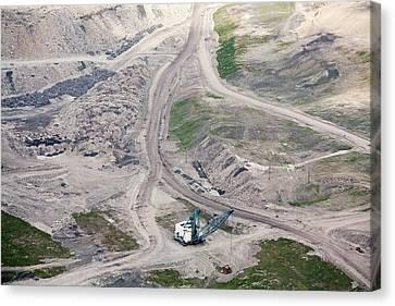 Mountaintop Removal Coal Mining Canvas Print