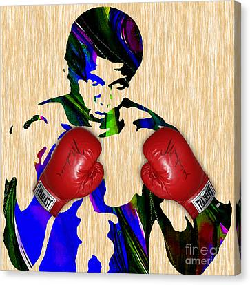 Muhammad Ali Collection Canvas Print by Marvin Blaine