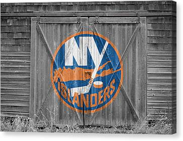 New York Islanders Canvas Print by Joe Hamilton