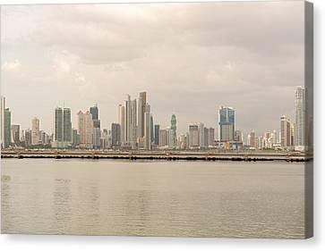 Panama City Canvas Print by Marek Poplawski