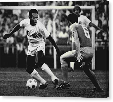 Pele Canvas Print - Pele by Retro Images Archive