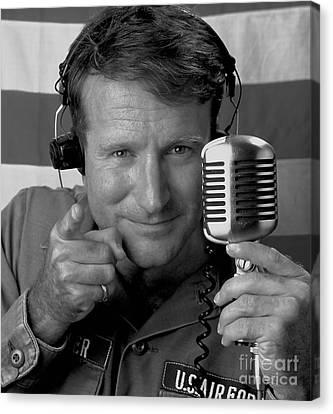 Robin Williams Good Morning Vietnam Canvas Print