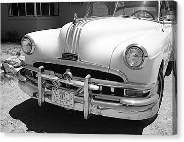 Route 66 - Classic Car Canvas Print by Frank Romeo