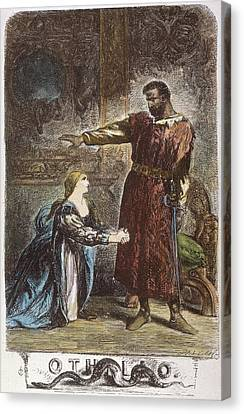 Shakespeare Othello Canvas Print by Granger