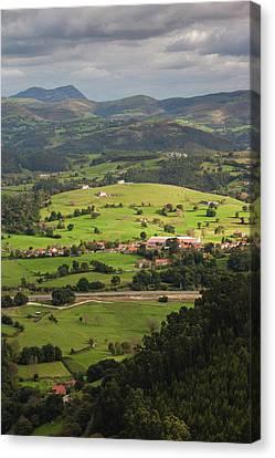 Spain, Cantabria Region, Cantabria Canvas Print by Walter Bibikow