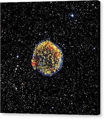 Supernova Remnant Canvas Print by Nasa