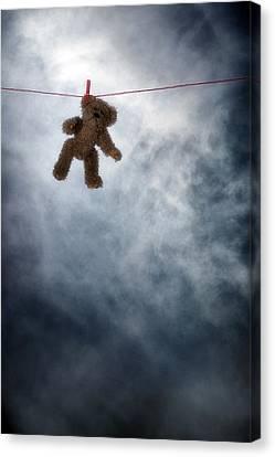 Teddy Bear Canvas Print by Joana Kruse