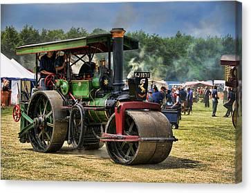Traction Engine Canvas Print by Jeff Dalton