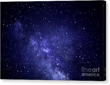 Under The Milky Way Canvas Print by Thomas R Fletcher