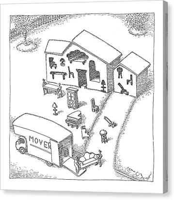 New Yorker April 30th, 2007 Canvas Print by John O'Brien