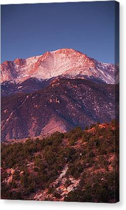 Usa, Colorado, Colorado Springs, Garden Canvas Print by Walter Bibikow