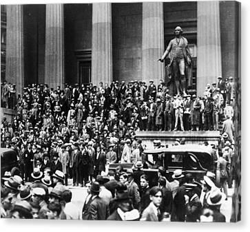 Wall Street Crash, 1929 Canvas Print by Granger