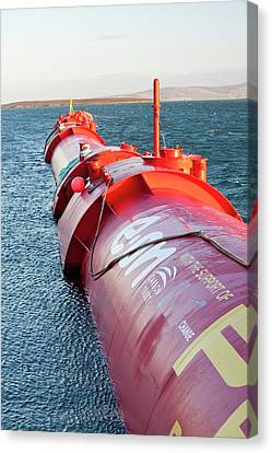 Wave Energy Generator Canvas Print by Ashley Cooper