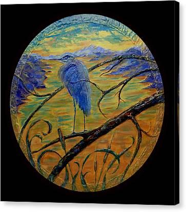 Earth Light Series  Canvas Print by Len Sodenkamp