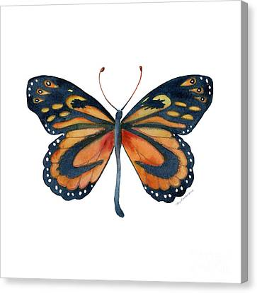 72 Cleobaea Butterfly Canvas Print by Amy Kirkpatrick