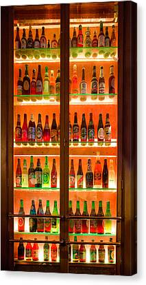 76 Bottles Of Beer Canvas Print by Semmick Photo