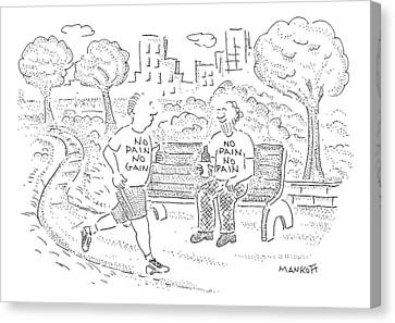 New Yorker April 13th, 2009 Canvas Print