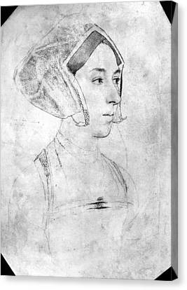 Anne Boleyn (1507-1536) Canvas Print by Granger