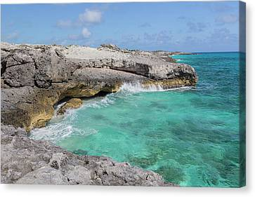 Blowhole Canvas Print - Bahamas, Exuma Island, Cays Land by Jaynes Gallery