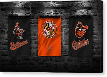 Baltimore Orioles Canvas Print by Joe Hamilton