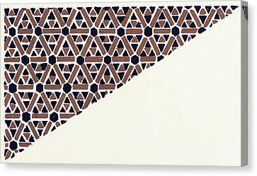 Byzantine Ornament Canvas Print by Litz Collection