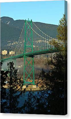 Canada, British Columbia, Vancouver Canvas Print by Rick A Brown