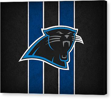 Carolina Panthers Canvas Print by Joe Hamilton