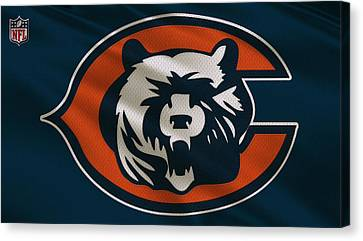 Chicago Bears Uniform Canvas Print by Joe Hamilton