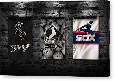Chicago White Sox Canvas Print by Joe Hamilton