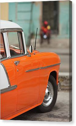 Cuba, Havana, Havana Vieja, Morning Canvas Print by Walter Bibikow