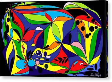 Design By Loxi Sibley Canvas Print by Loxi Sibley