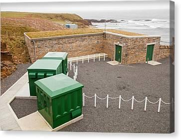 European Marine Energy Centre Canvas Print by Ashley Cooper
