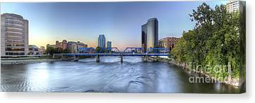 Rapids Canvas Print - Grand Rapids  by Twenty Two North Photography