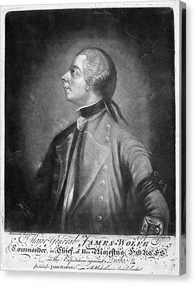 James Wolfe (1727-1759) Canvas Print by Granger