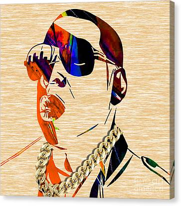 Jay Z Collection Canvas Print