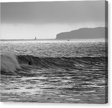 8 Canvas Print by Joey  Maganini