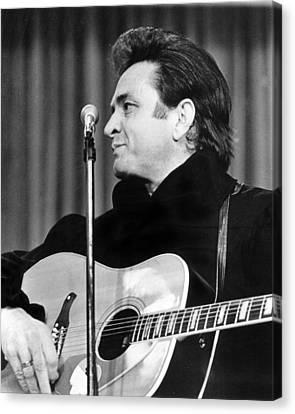 Arkansas Canvas Print - Johnny Cash by Retro Images Archive