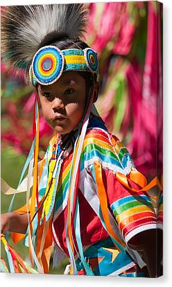 Kamloopa Pow Wow Canvas Print