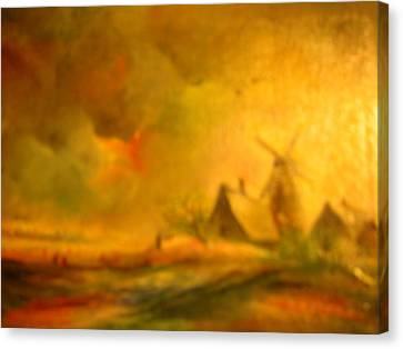 Landscape Canvas Print by Egidio Graziani