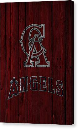 Los Angeles Angels Canvas Print by Joe Hamilton