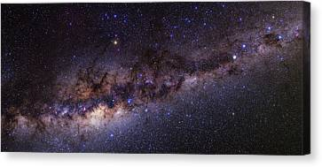 Milky Way Over The Atacama Desert Canvas Print