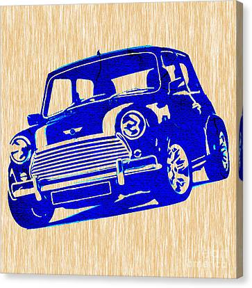 Mini Cooper Canvas Print