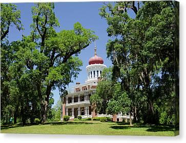 Mississippi, Natchez Canvas Print by Cindy Miller Hopkins