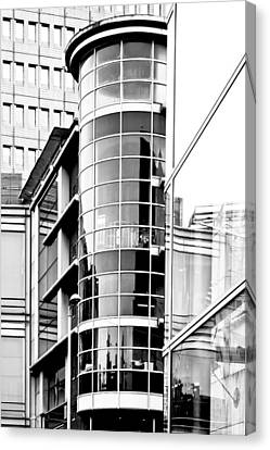 Modern Architecture Canvas Print by Tom Gowanlock