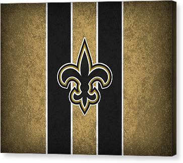 Saint Canvas Print - New Orleans Saints by Joe Hamilton