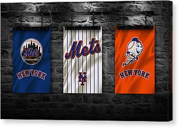 Mets Canvas Print - New York Mets by Joe Hamilton