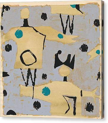 Petra James, Contemporary Modern Artist Canvas Print by Artokoloro