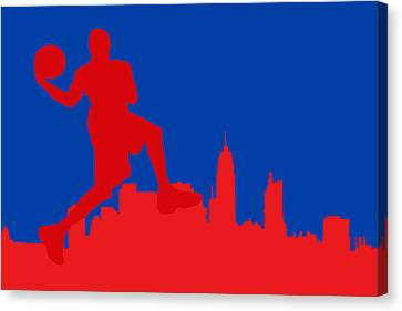 Philadelphia 76ers Canvas Print