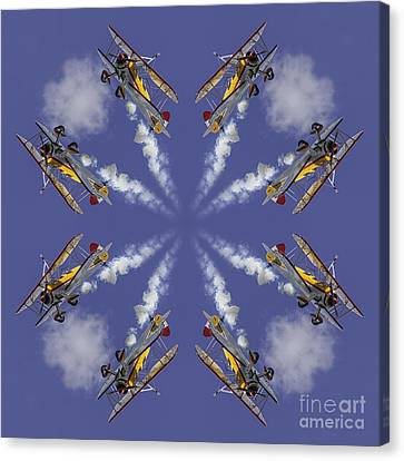 8 Planes Canvas Print by Jerry Fornarotto